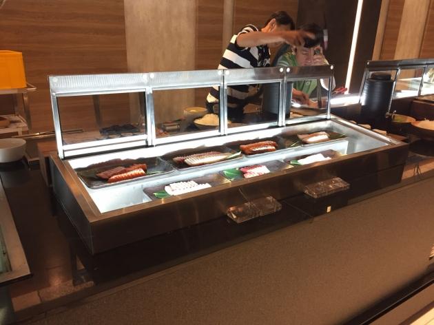 上掀式生魚片冷藏展示櫃 1