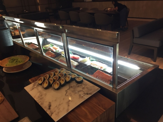 上掀式生魚片冷藏展示櫃 2