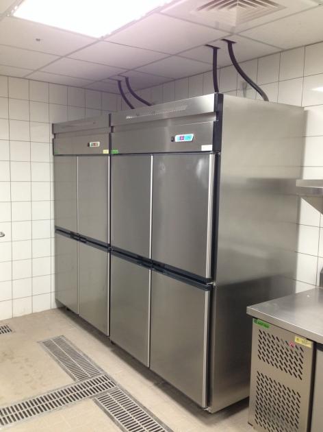 不銹鋼立式冷藏櫃 1