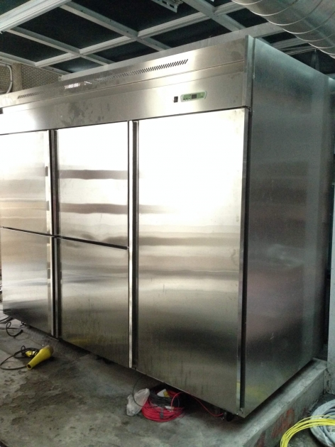 不銹鋼立式冷藏櫃 3