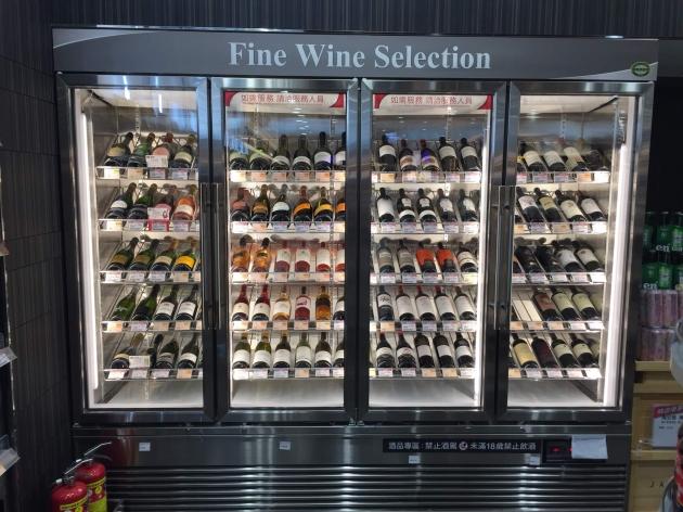 紅酒展示保存櫃 1